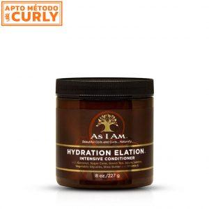 As I Am Hydration Elation es una Mascarilla de hidratación profunda, desarrollada para nutrir y reparar pelos dañados, tenidos o secos.